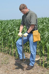 The JMC Backsaver Handle Soil Sampling Kit